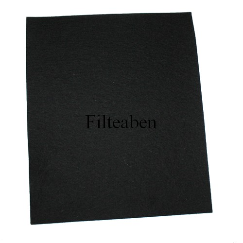 3 mm filt str 22,50  * 30 cm Sort